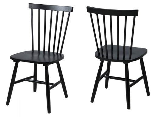 Krzesło Riano czarne 0000063661 » Actona Sfmeble.pl