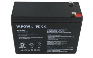 AKUMULATOR ŻELOWY 12v 10ah zabawki AUTO UPS Rower