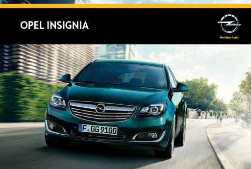 Opel Insignia prospekt 2014 polski 68 str.