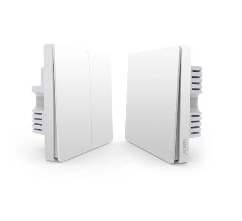 Aqara przełącznik 2 przyciski / ściana + WallBox86