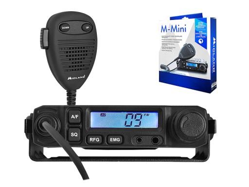 Radio CB Midland M-Mini ASQ małe Z0M
