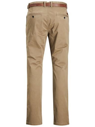 JACK&JONES Męskie Spodnie Chino 30/32 OSTATNIE 9602971553 Odzież Męska Spodnie FE IJEHFE-1