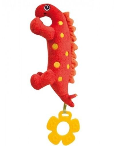 Pluszowa zabawka dinozaur piszczałka Canpol71/005