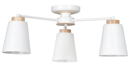 STYL SKANDYNAWSKI LAMPA SUFITOWA PERIOT 3 EMIBIG