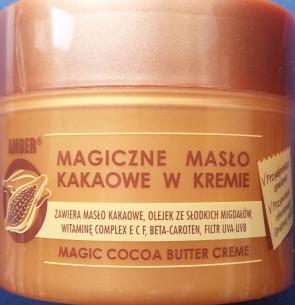 Amber Magiczne Maslo Kakaowe W Kremie 50ml 8282009052 Allegro Pl