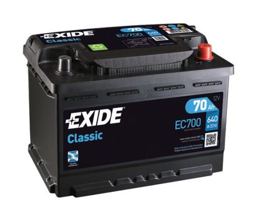 BMW 730  E32  akumulator EXIDE   f .VAT