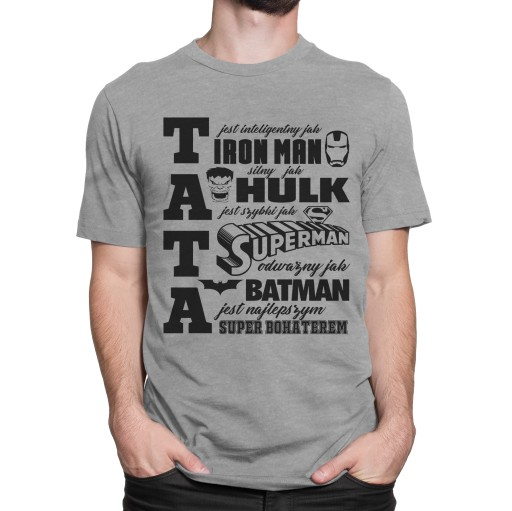Koszulka Na Dzien Taty Od Syna Od Corki Nt 48 L 9017541313 Allegro Pl