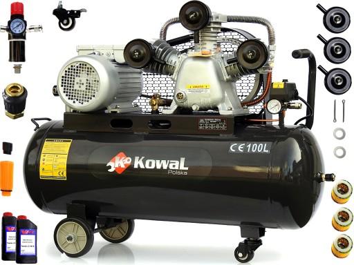 Kompresor K3 Olejowy 100l Sprezarka Powietrza W3 Namyslow Allegro Pl