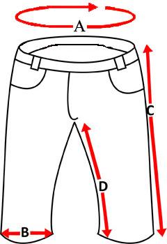 PłÓcienne bojÓwki MORO pas 112cm roz. XXL 8894838932 Odzież Męska Spodnie II UMZNII-9