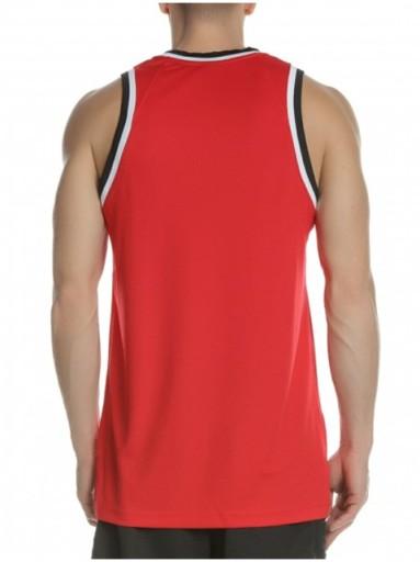 KOSZULKA NIKE do koszykÓwki AQ5591-657 czerwona XL 8918319040 Odzież Męska Koszulki bez rękawÓw NO FAZJNO-2