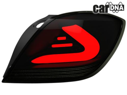 carDNA Lampy Tylne LED Opel Astra H GTC Czarne 3D