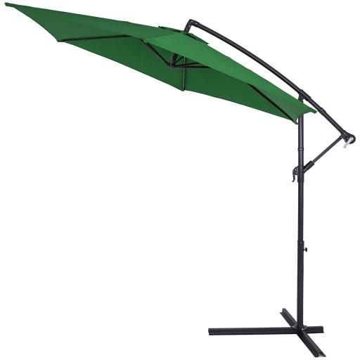 Parasol Ogrodowy Na Wysiegniku Boczny O 300 Cm 9458880224 Allegro Pl