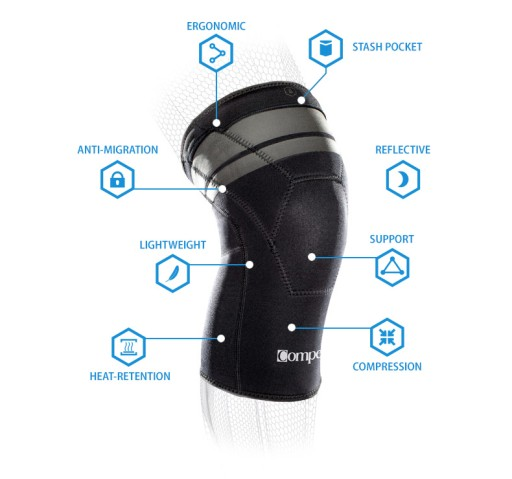 Stabilizator na kolano Compex Anaform Knee 2MM - L