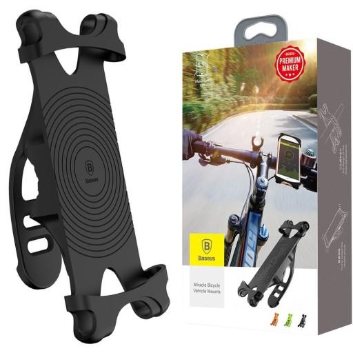 Baseus uchwyt rowerowy na telefon rower kierownice