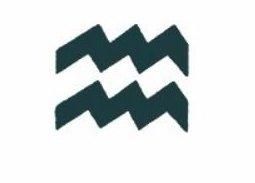 Tatuaż Wodnik Znak Zodiaku Symbol Wodnika M116
