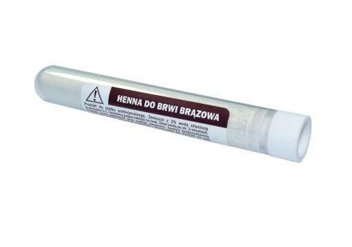 Henna proszkowa do brwi KAMA 10m brązowa krakowska 7079581491