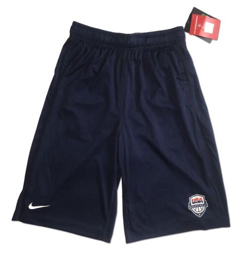 Spodenki do kosza reprezentacja USA Nike Yth XL