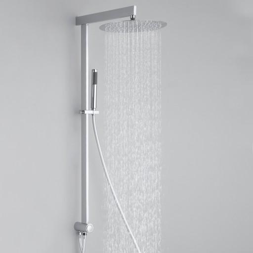 System prysznicowy bez baterii z przełącznikiem