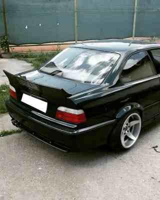 SPOILERIS DUCKTAIL BMW E36 SEDANAS,COUPE RAKETA DRIFT