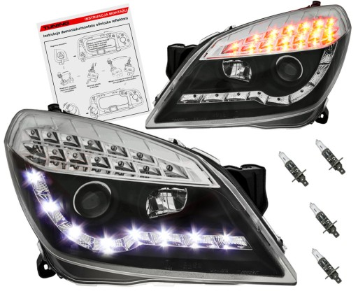 lampy led astra h gtc
