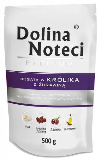 DOLINA NOTECI SASZETKA 500g KRÓLIK