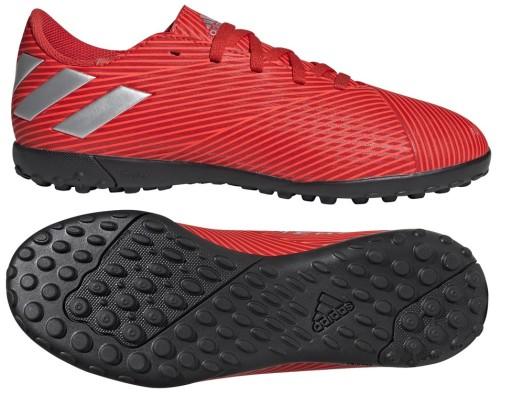 Buty adidas Nemeziz 19.4 Tf Jr F99936 | Turfy piłka nożna