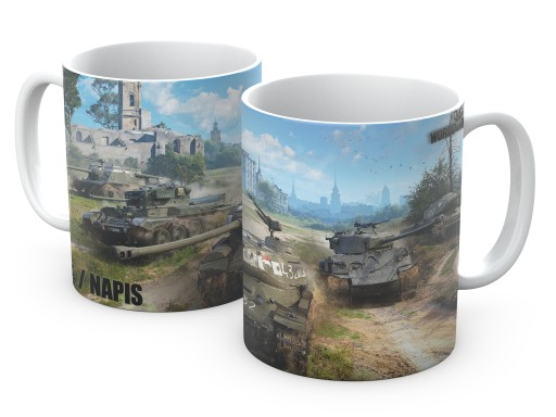 KUBEK prezent WOT 330ml World of Tanks w4