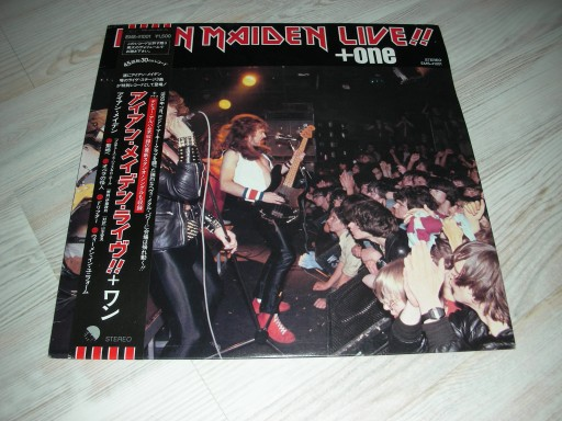 iron maiden-live 1980 r,japan NM