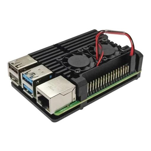 Duze Radiatory Z Wentylatorkami Do Raspberry Pi 4 Sklep Komputerowy Allegro Pl
