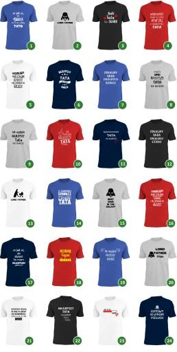 koszulka tata prezes zarządu rodzina PREZENT taty 8482643341 Odzież Męska T-shirty EG CJCPEG-1