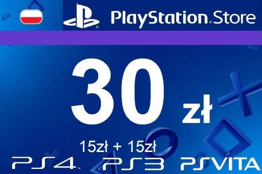 Playstation 30 Zl Psn Network Store Kod Ps4 Ps3 7827572529 Allegro Pl