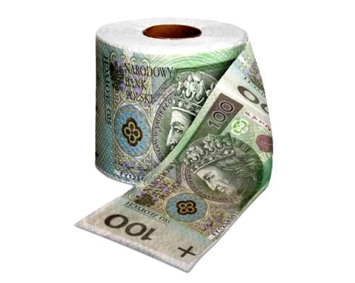 Papier Toaletowy 100 Zlotych Pln Stowka Na Prezent 7216318303 Allegro Pl