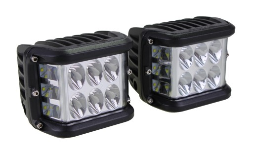 WORKING LIGHT 9 LED CONCENTRATED A SET 45W CREE HIT