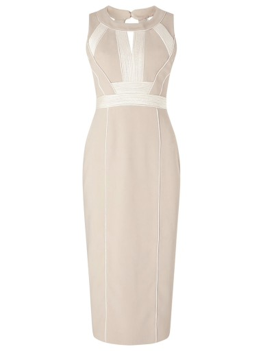 MARGOSTYL OUTLET sukienka kremowa Phase Eight 36