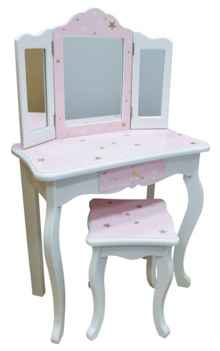 Toaletka Kosmetyczna Dla Dziewczynek Pola Gwiazdki 8739153665 Allegro Pl