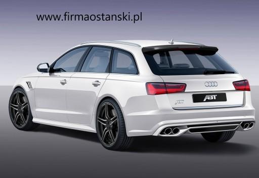 Abt Audi A6 C7 4g Kombi Lotka Tylna Klape Spoiler Lubin Allegro Pl