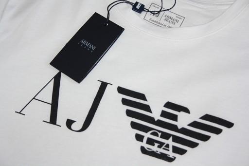 ARMANI JEANS / T-SHIRT / BOSCO / ITALY / ROZ. XXL 7851545775 Odzież Męska T-shirty TZ UVFMTZ-3