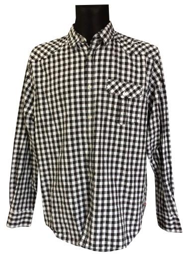 Bawełniana koszula męska w kratkę BIG STAR 3XL