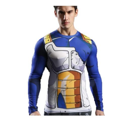 Koszulka Termoaktywna Dragon Ball Rashguard Vegeta 7316556550 Allegro Pl