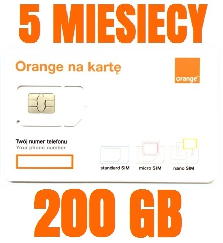 STARTER INTERNET ORANGE FREE 200 GB