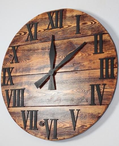 Zegar ścienny Coffee rustic vintage kolonialny 60