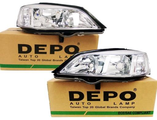 Lampy Reflektory Nowe Opel Astra Ii 2 G Depo L P Myslowice Allegro Pl