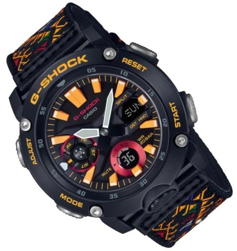 Zegarek męski Casio G-SHOCK GA-2000BT + ExtraPASEK