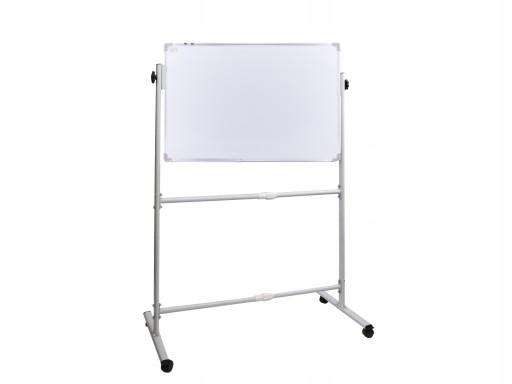 Mobilny stojak + tablica dwustronna 120x90 2 belki