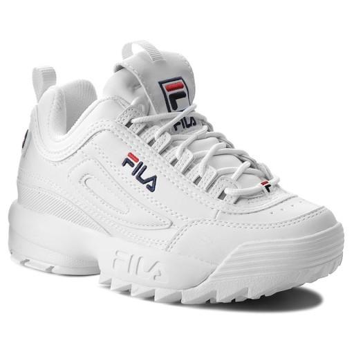Fila Disruptor Low Sneakersy Damskie 1010302.1FG Biały