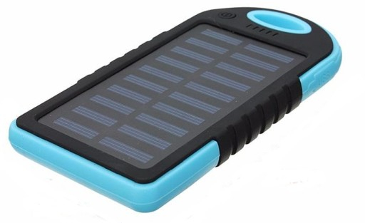 Ładowarka słoneczna solarna power bank USB 5000mAh
