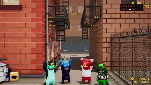 Gang Beasts Ps4 Playstation 4 Towarzyska Bijatyka Stan Nowy 8748928928 Allegro Pl