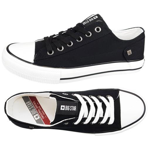 Trampki Big Star męskie czarne DD174273 buty 42