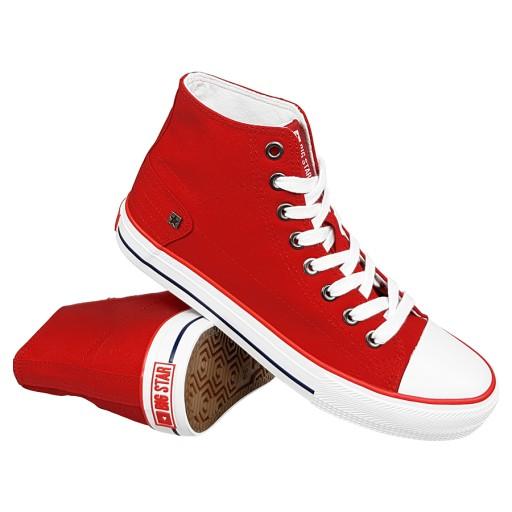 Trampki Big Star męskie czerwone DD174253 buty 42 7807582040
