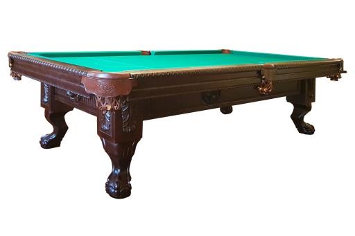 Stół Bilardowy Pool Royal 8 Ft Ręcznie Rzeźbiony